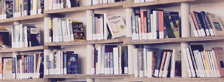 sobre estante de livros - Sobre
