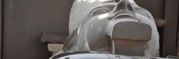 ramsés ii de helena trindade lopes estátua - Ramsés II, de Helena Trindade Lopes